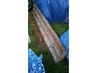 Concrete Gravel Board (1' x 6')