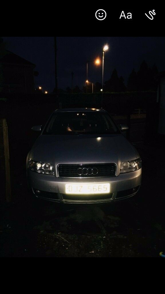 Audi a4 for sale full mot 1.9tdi 130bhp 6sped