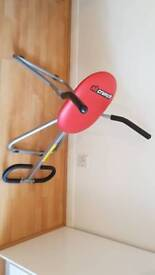 AB Crunch exerciser fitness equipment