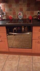 Single intergrated fan oven