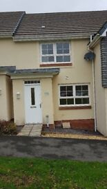 Modern 2 bed house to rent in Bodmin with garden and allocated parking