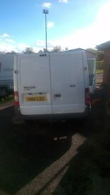 Ford transit crewvan custom seats and flooring in the back