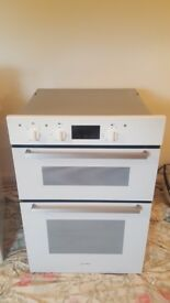 Indesit electric double oven in good condition