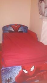 spiderman todler bed