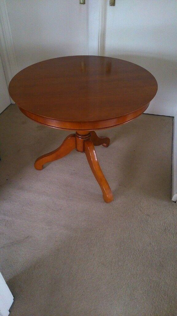 Small Table. Cherry Wood fine polish