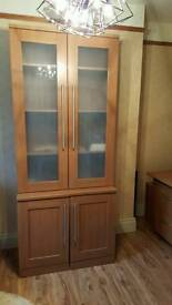 Bookcase & matching top boxes