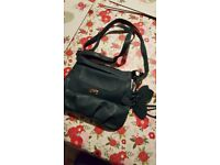 Green hand bag by F&F
