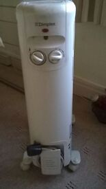 Dimplex Electric Oil Heater on wheels