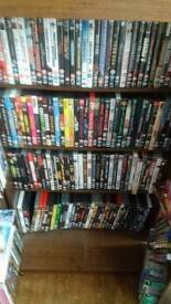 Dvds and cabinet