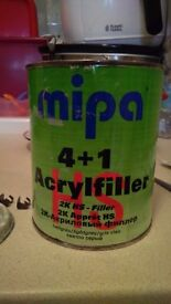 2K Primer & Hardener - Used, good condition