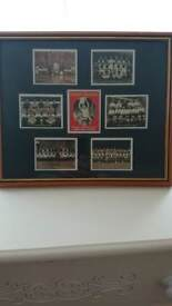 Framed arsenal 6 of the greatest teams