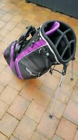 Ladies golf stand bag