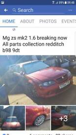 Mg zs mk2 1.6 breaking now