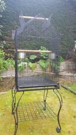 Large Bird Cage with wheels