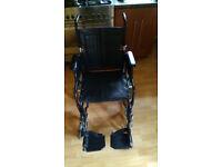 Enigma transport wheelchair
