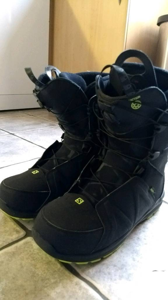 Salomon Faction Mens Snowboard Boots UK Size 12.5