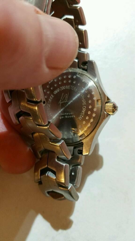 Lady's tiger Woods watch