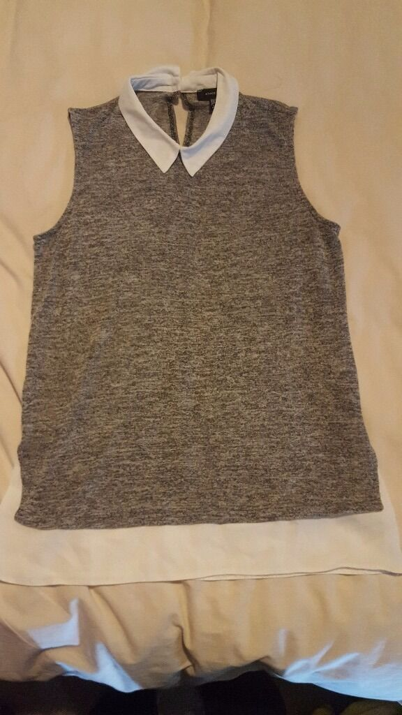 womens size 10 top hardly worn only1in Southampton, HampshireGumtree - womens sleeveless size 10 top bargain of £1. check out my other adds lots of bargains on size 10 to 12 womens clothing