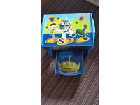Kids toy story table and bench