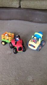 Happyland tractor & trailer