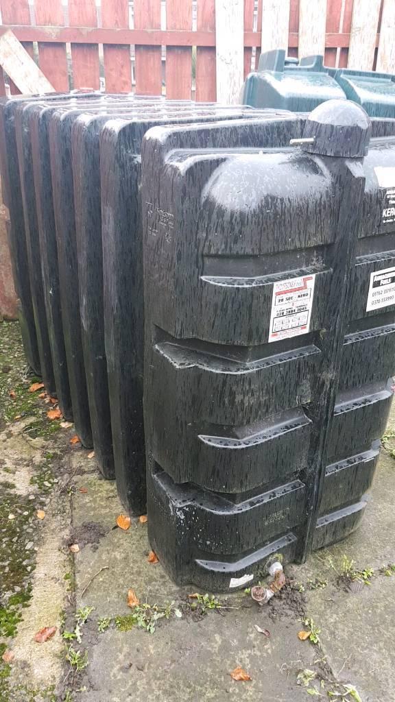 Kingspan 1200 litre oil tank