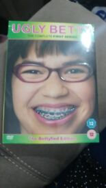 UGLY BETTY COMPLETE FIRST SERIES DVD BOX SET NEW AND SLEAED