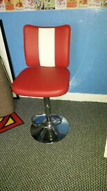 Retro American Diner Bar Stool