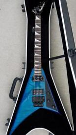Jackson RR3 made in Japan trans-blue