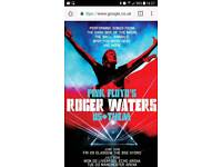 ROGER WATERS HYDRO TICKETS X2