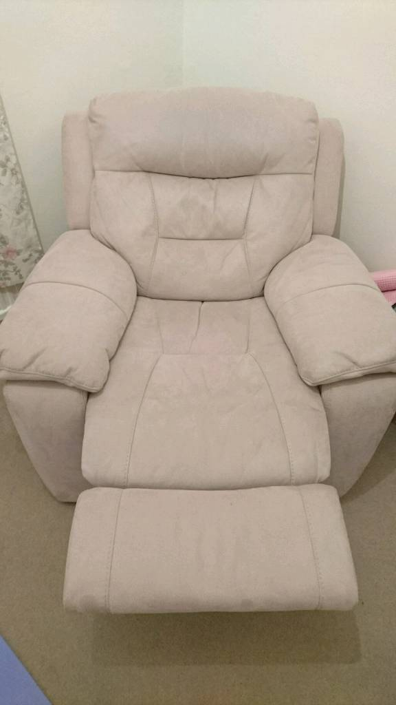 DFS Farrah Recliner Armchair Sand | in Effingham, Surrey ...