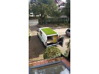 Converted Campervan with artificial grass roof - Day Car - LDV Maxus