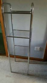 Silver Shelves / Rack Stand