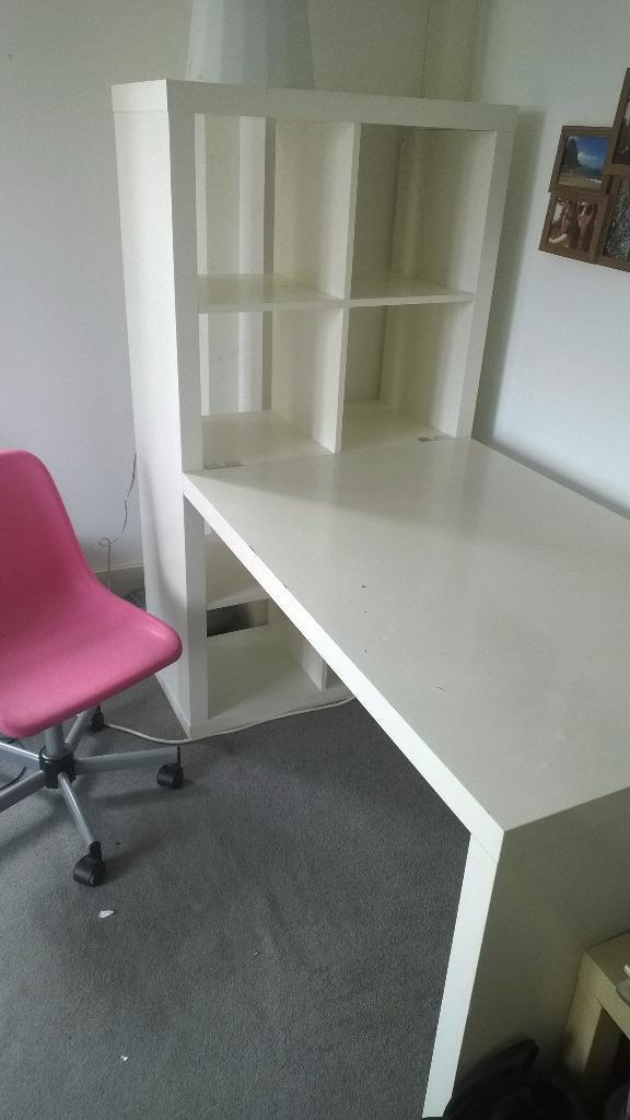 Ikea Kallax Desk Unit Buy Sale And Trade Ads Great Prices