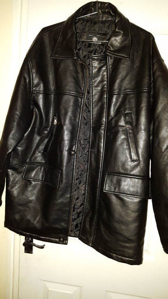 Leather Jackets x 3, 2 are black and 1 brown all in very good conditionin Minster on Sea, KentGumtree - Leather Jackets x 3 1 brown 2 x black sizes s m l £25 each of all 3 jacket £50