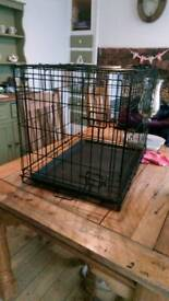 Small dog pet cage crate