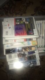 Nintendo Wii bundle , console , 24 games and Nintendo Wii fit and board