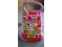 Vtech Baby Walker Toy Pink Girls