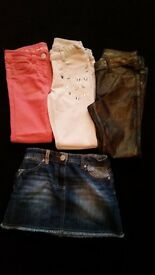Next girls jeans age 7