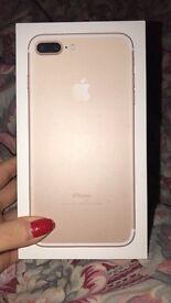 Gold seven plus iPhone