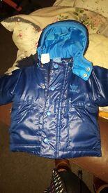Adidas coat age 0-3months