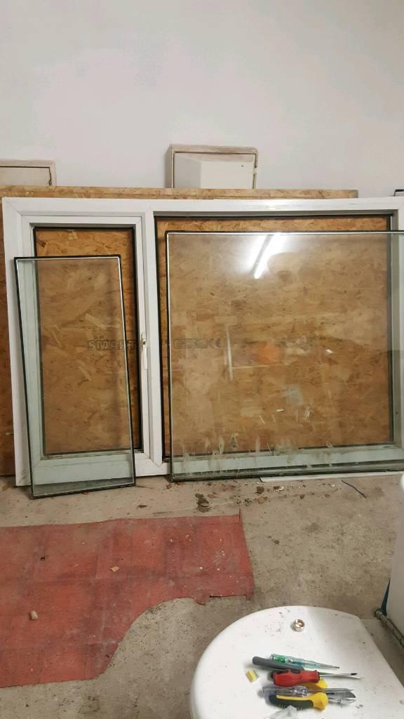 2 p v c window £60
