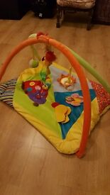 Baby Playmat and Baby Cot Mobile £30 ONO