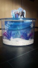 Disney frozen fishtank complete setup