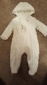 Baby padded all in one 0-3 size