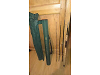 shakespeare trion xt 10ft spinning 4 piece travel rod