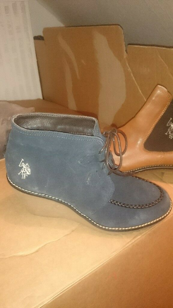 us polo assn suede ladies shoes