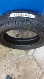 Continental tyre 165 60 R15