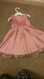 Girls party/bridesmaid dress age 1-2 Years