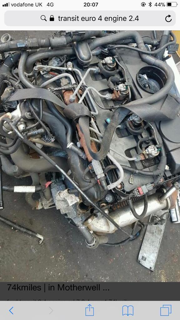 Ford Transit Euro   Engine And Gearbox