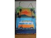 "Original Acrilic Painting ""Malibu Sunset"""
